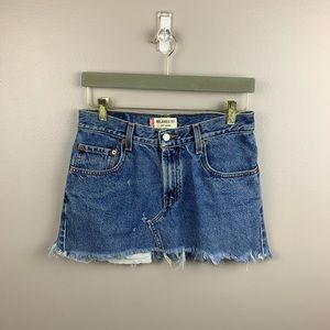 Levi's Relaxed Fit 550 Jean Mini Skirt